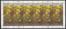 UNO Wien 1988 ** Mi.81/82 Wald Forest Bäume Trees [sr2008]