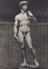"""Ansichtskarte - Skulpur von Michelangelo """"David"""""""
