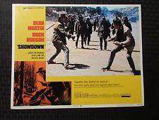 """1973 SHOWDOWN Original 14x11"""" Lobby Card #1 2 8 VG/FN 5.0 LOT of 3 Dean Martin"""