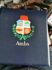 1986-2005 MNH Aruba, 20 years complete in hingeless davo album