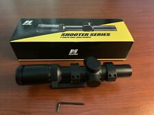 NcSTAR 1-6X24 Glass Etched 30mm LPV Scope With Monstrum Offset Cantilever Mount