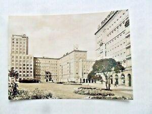 AK Leipzig Roßplatz Hochhaus Neubauten DDR Leucht Reklame 1970