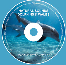 DOLPHIN & WHALE CD - RELAXATION STRESS SLEEP AID CALM NATURE NATURAL SOUNDS