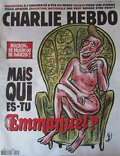 CHARLIE HEBDO No 1259 de SEPTEMBRE 2016 MACRON MAIS QUI ES-TU EMMANUEL ?