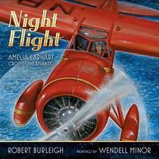 HARDCOVER Night Flight: Amelia Earhart Crosses the Atlantic National Geographic