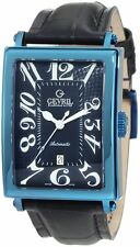 Gevril Men's 5006A Avenue of Americas Swiss Automatic ETA 2892 Date PVD Watch