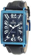 Gevril Men's 5006A Avenue of Americas Swiss Automatic ETA 2892 Date PVD Watch