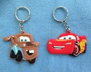 Cars Keyring Key Ring school bag tag