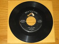 "ELVIS 45 RPM - RCA 47-6604 - ""DON'T BE CRUEL"" + ""HOUND DOG"""