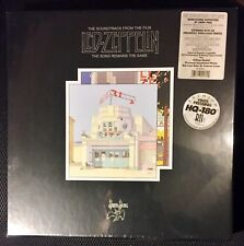 SEALED Led Zeppelin The Song Remains The Same 4LP Box Set Half-Speed RM 180 Gr.