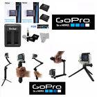 Battery for GoPro HD Hero4 SILVER X2 AHDBT 401 DUAL USB CHARGER MONOPOD BRACKETT