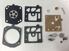 Walbro Carburetor Repair Rebuild Kit for Husqvarna 238, 254 and 262 HDA Carb