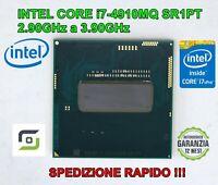 INTEL CORE i7-4910MQ 2.90GHz a 3.90GHz SR1PT 8MB QUADCORE 5GT/s CPU PROCESSORE