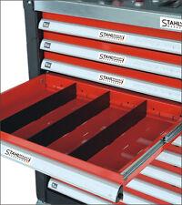 Stahlmayer Tôle / plaque de séparation pour moyen Tiroir 391x128x4mm