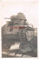 Verlassene franz. Panzer Char D2 Guise Frankreich