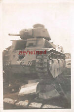 Abandonnée Franz. panzer char d2 guise France
