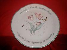 Lenox BUTTERFLY MEADOW Friends & Family Dessert Platter 8387835