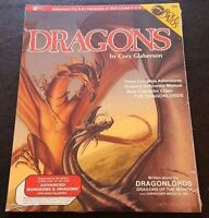 AD&D 1986 Role Aids DRAGONS MFG721 Mayfair Dungeons Dragonlords Shrink SW NEW!