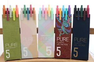 KACO PURE GREEN Gel Pens, 5 Models, UK Seller