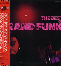 "GRAND FUNK ""BEST OF"" RE JAPAN 1971/83 OBI/INSERT"