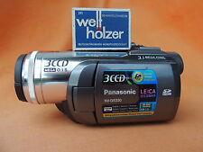 Panasonic NV-GS330 3CCD-Camcorder MiniDV Mega OIS Bildstabi+3.1 M.pixel+Gewähr X