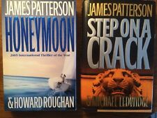 2 James Paterson Crime Novels: Honeymoon & Step On A Crack