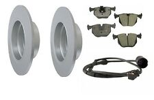 BMW E53 X5 00-06 Best Value Rear Brake Kit w/ Rotors Ceramic Pads and Sensor
