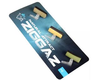Nash Ziggaz Zig Foam Kit - Natural Attract T7831 - Zig hookbait & mounting kit