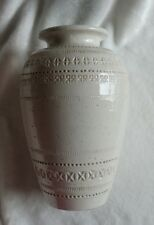 """Vintage 10"""" Greek Pottery Pitcher Hand Painted Ikaros Rhodes for Pier 1"""