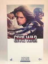 "Hot Toys Captain America: Civil War WINTER SOLDIER 12"" Figure 1/6 Scale MMS351"