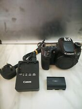 Canon EOS 70D Digital SLR Camera body with charger and battery