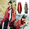 4 Pcs Set Women's Dress Hanfu Ancient Costume Inner Tops Skirt Coat Han Cosplay