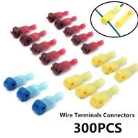 300X Schnellverbinder Sortiment Stromdieb Set Kabel-Verbinder Abzweigverbinder