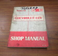 Service Repair Manuals For Chevrolet Luv For Sale Ebay