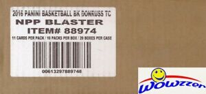 2016/17 Panini Donruss Basketball Sealed 20 Box Blaster CASE-20 AUTOGRAPH/MEM