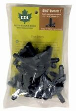 12 Pk 5/16 Maple Syrup Sap Tubing T Tee - New in Pkg.