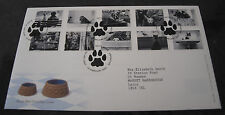 First Day Cover of Cats and Dogs 13th Feb 2001 SHS