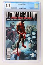 Ultimate Fallout #4 - Marvel 2011 CGC 9.6 1st App Spider-Man (Miles Morales)