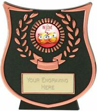 Emblems-Gifts Curve Bronze Im In Love With You Trophy With Free Engraving