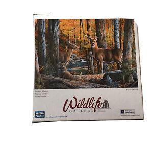 Wildlife Gallery Broken Silence Kevin Daniel Deer 1000 Piece Puzzle