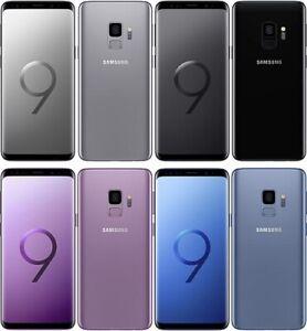 Samsung Galaxy S9 - 64GB - Black, Blue, Grey, Purple, Gold - Unlocked, SIM Free