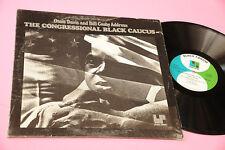 OSSIE DAVIS AND BILL COSBY LP CONGRESSIONAL BLACK CAUCUS ORIG USAS 1972 EX
