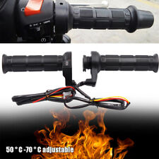 Universal Motorcycle Handlebar Electric Heated Handle Motorbike Heating Black