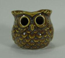 NEW Yankee Candle OWL Tealight Candle Holder Luminary Votive Glazed Ceramic Bird