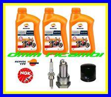 Kit Tagliando HONDA TRANSALP 700 08>09 Filtro Olio REPSOL10W40 Candele 2008 2009