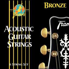 Framus Bronze Medium 12-53 Cordes guitare folk acoustique