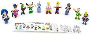 SET Completo 10 Mini Figure Collezione PINOCCHIO Originali ZAINI ITALIA Pinochio