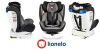 Car seat Lionelo Bastiaan ISOFIX 360° TOP TETHER 0-36 kg +2x Sun cover+Organizer