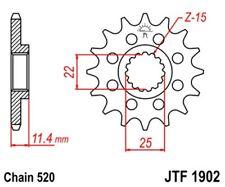 JT Motor Piñón 16 Dientes Apto para KTM LC4 DESDE Año 90 HUSQVARNA 701 DESDE 16