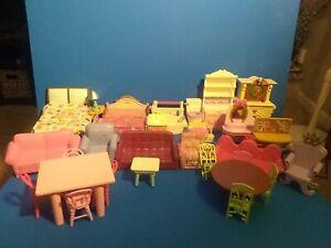 30 piece dollhouse furniture